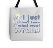 "Derpy Hooves / Ditzy Doo ""I just don't know what went wrong"" Tote Bag"