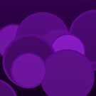 Coloured Rings   Passionfruit Purple by Adam Roper