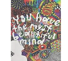 You Have The Most Beautiful Mind by foreversarahx
