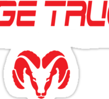 Dodge ram truck Sticker
