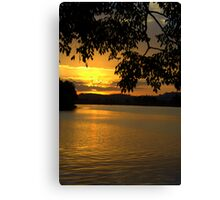 Day's End - Manning River Canvas Print