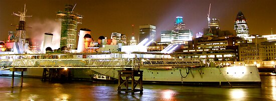 HMS BELFAST LONDON by Scott  d'Almeida