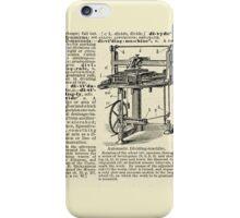 Victorian Invention iPhone Case/Skin