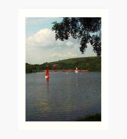 Ulley Reservoir, Rotherham Art Print