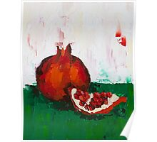 Chunk of Pomegranate Poster