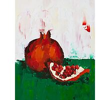 Chunk of Pomegranate Photographic Print