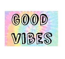 Good Vibes -Tie Dye by foreversarahx