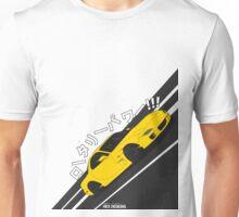 Mazda RX7 FD - Rotary Power (Yellow) Unisex T-Shirt