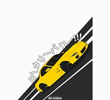 Mazda RX7 FD - Rotary Power (Yellow) Unisex T-Shirt
