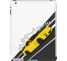 Mazda RX7 FD - Rotary Power (Yellow) iPad Case/Skin