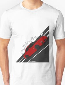 Mazda RX7 FD - Rotary Power (Red) T-Shirt