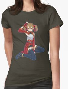 Silica (Sword Art Online) Womens Fitted T-Shirt