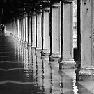 FLOODED ST MARKS SQUARE  by Scott  d&#x27;Almeida