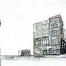 2 Buildings by Tristan Klein