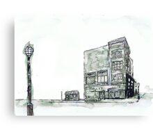 2 Buildings Canvas Print