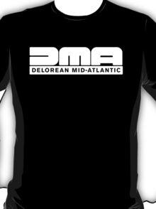 DeLorean Mid-Atlantic Logo White T-Shirt