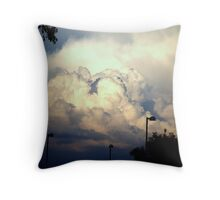A California Storm Brewin Throw Pillow