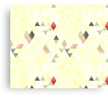 Mixed triangles Canvas Print