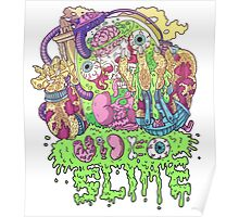 Ooze Dude Poster