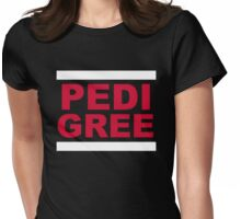 RUN Pedigree Womens Fitted T-Shirt