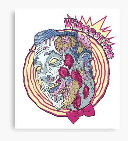 Zombie Playhouse Canvas Print