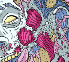 Zombie Playhouse Sticker