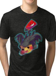 Toothless Pikachu Tri-blend T-Shirt