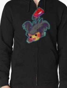 Toothless Pikachu Zipped Hoodie