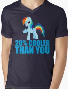 Rainbow Dash: 20% Cooler Than You Mens V-Neck T-Shirt