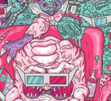 3D Mutant Fun Club Sticker
