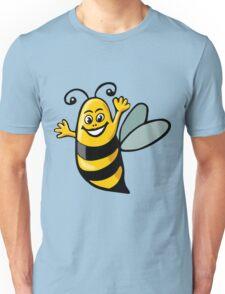 Happy Bee Unisex T-Shirt