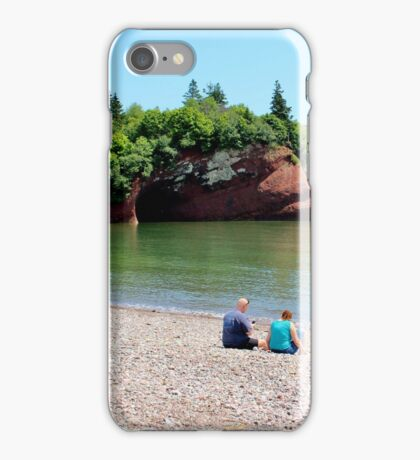 St. Martins' Caves at High Tide iPhone Case/Skin