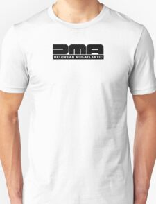 DeLorean Mid-Atlantic Logo Black T-Shirt