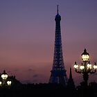 Eiffel Tower by Eric Flamant