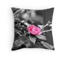 Flower :: Colorized Throw Pillow