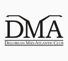 DeLorean Mid-Atlantic Official Logo Black Badge by DeLorean
