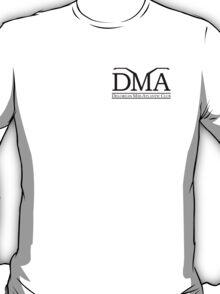 DeLorean Mid-Atlantic Official Logo Black Badge T-Shirt