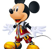 Kingdom Hearts King Mickey by AlexIV