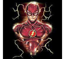Flashy Hero Photographic Print