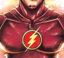 Flashy Hero Sticker