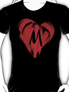 M - GRAFFITI HEART T-Shirt