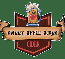 Sweet Apple Acres Cider - My Little Pony Applejack by Kristin Frenzel