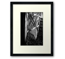 Screen Door Framed Print