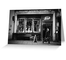 regent sound Greeting Card