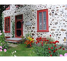 The Stone House Quebec          Photographic Print