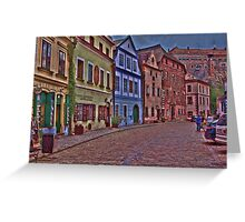 (。◕‿◕。) Chesky Krumlov - Czech Republic(。◕‿◕。)  Greeting Card