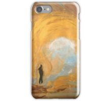 Gold womb iPhone Case/Skin