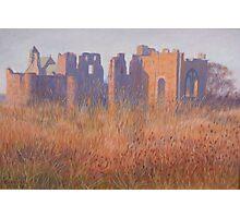 Lindisfarne Priory Photographic Print