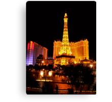 Paris Las Vegas Canvas Print