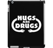 Hugs Are Drugs Funny Geek Nerd iPad Case/Skin